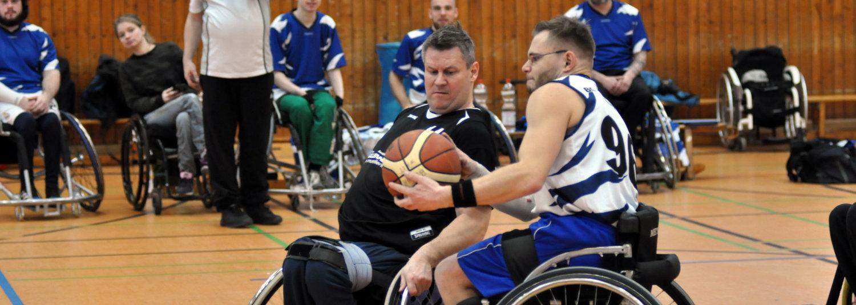 Wichtiger Doppelsieg der Rollstuhl-Basketballer