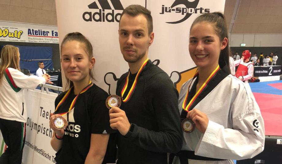 SVE-Trainer Felix holt Bronze bei DM