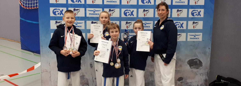 Guter Jahresauftakt im Taekwondo