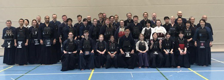Kendo-Bundestrainer beim SVE-Lehrgang