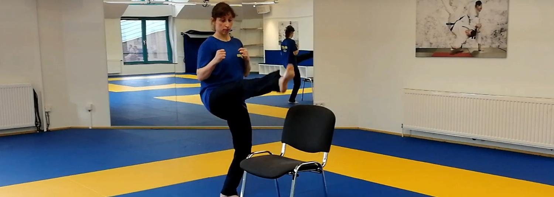 Beinarbeit und Grundtritte im Taekwondo