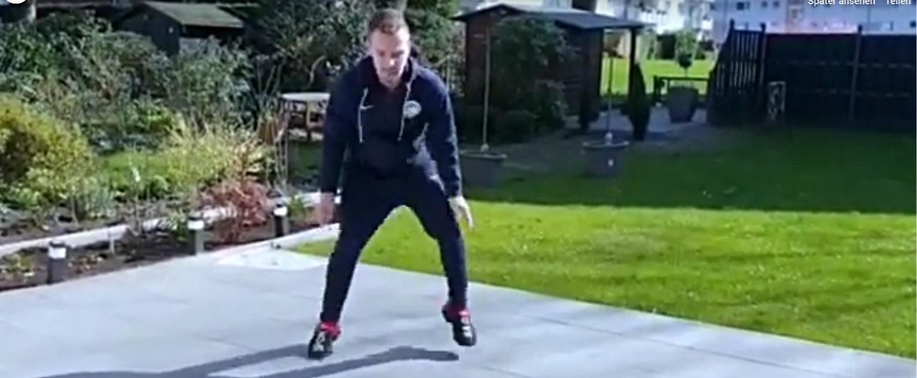 Taekwondo-Training mit Felix
