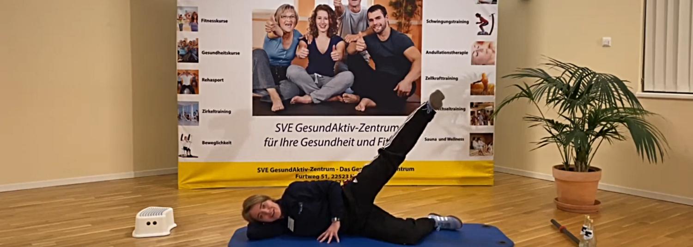 Bein- und Gesäßtraining mit Saskia