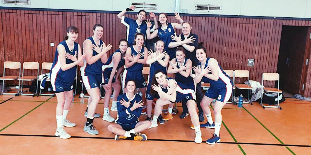 Basketballerinnen offiziell Meister