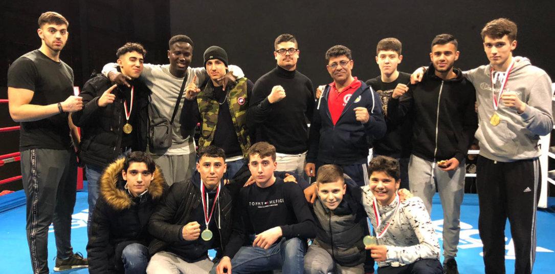 Fünf Siege der SVE-Boxer