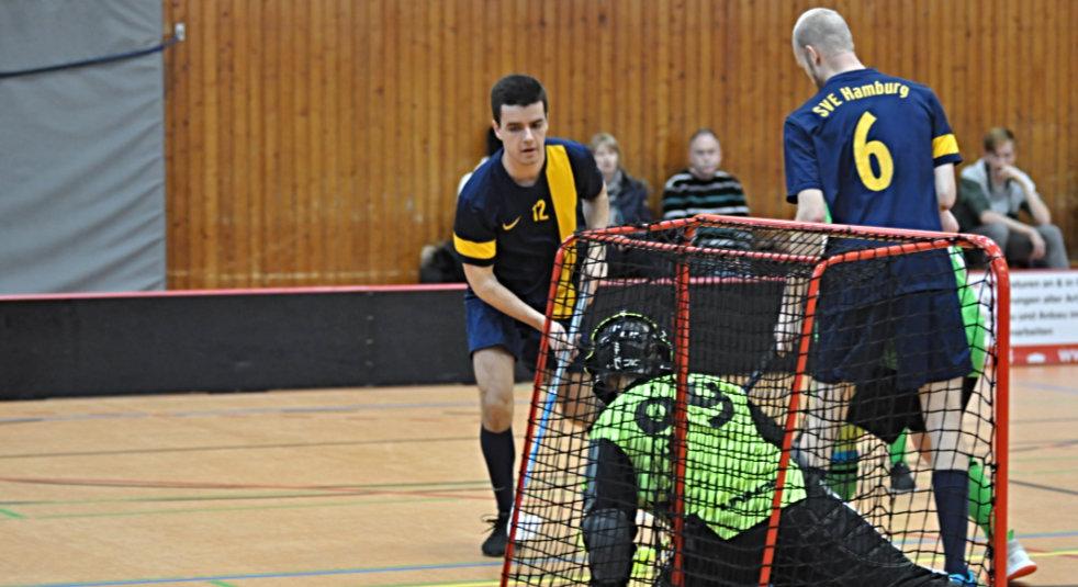 Saisonabbruch – Kleinfeld-Floorballer nun Meister