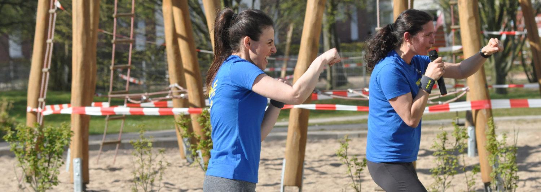 SVE und SAGA richten Sportcamp aus