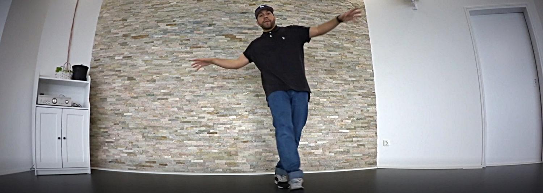 Breakdance mit Jango