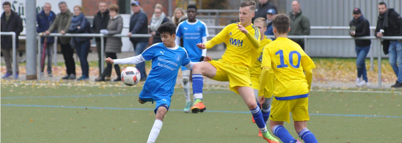 Probetraining der SVE-Fußball-Jugend